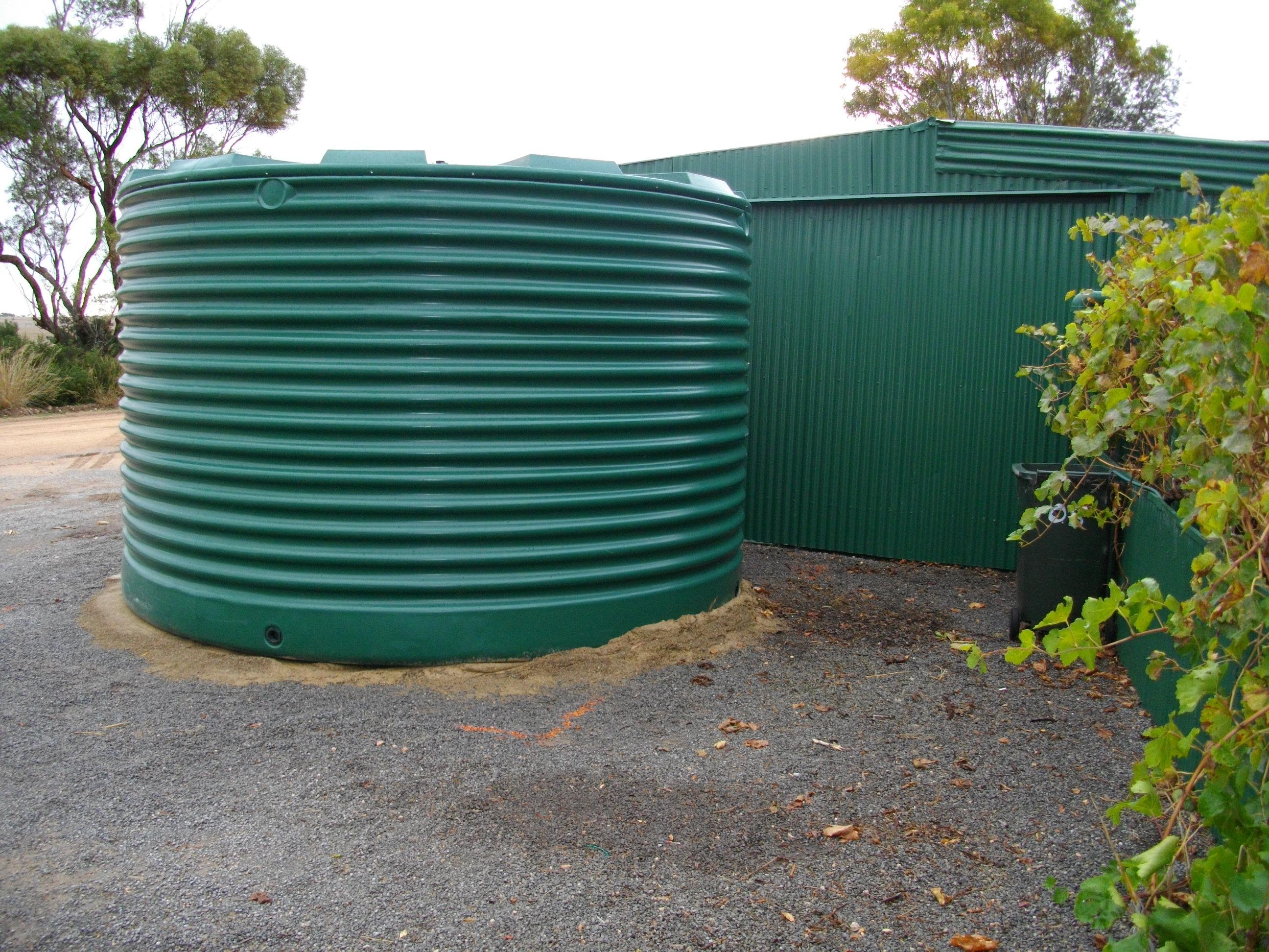 Rainwater Tank Adrian Kuys